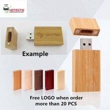 Natural Wooden USB 3.0 Flash Drive External Storage USB Flash Memory Stick Gift USB Key Pen Drive 64GB 32GB 16GB 8GB 4GB Festiva