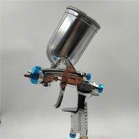 Frete grátis  japão w101pistola  W 101 pistola de pulverização hvlp manual do carro pintura arma  tipo alimentação por gravidade com copo  pistola w101|Pistola pulverização| |  -