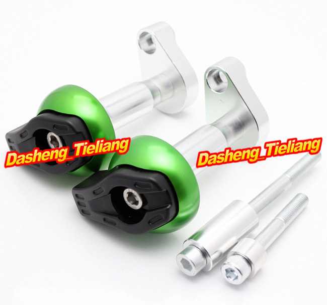 CNC Motorcycle Stator Cover Slider Frame Crash Protector For Triumph Tiger 800/XC 2011 2012 2013, Green Color motorcycle for triumph tiger 800 xc 2011 2013 front