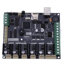 3D Printer Motherboard Megatronics V3 Control Board With Welding AD597 Chip and Data Cable 3D Printer