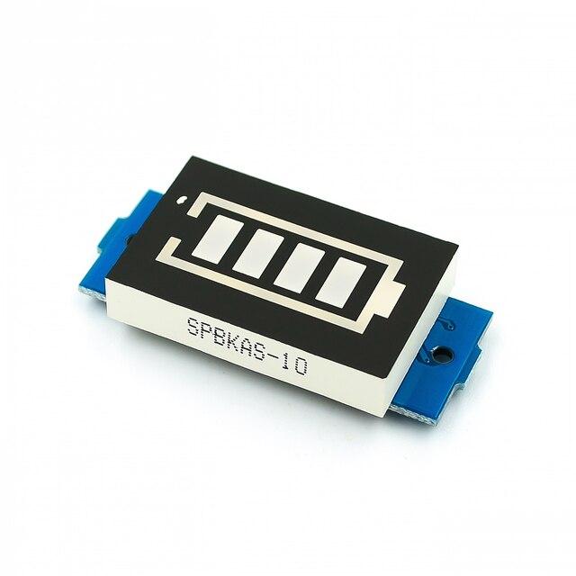 1 S 2 S 3 S 4S S 6 S 7 4 4 S batería de litio de la serie Indicador de capacidad para 16,8 V probador de batería de vehículo eléctrico con pantalla azul