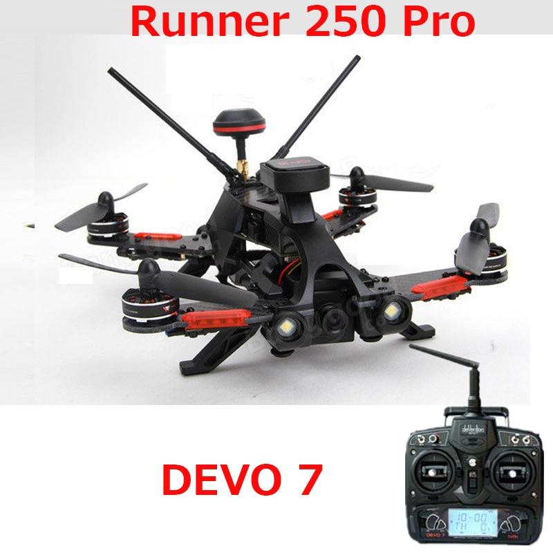 (In stock) Original Walkera Runner 250 PRO GPS Racer quadcopter drone with 800TVL or 1080P camera/OSD/GPS/DEVO 7 transmtter RTF летняя шина cordiant road runner ps 1 185 65 r14 86h