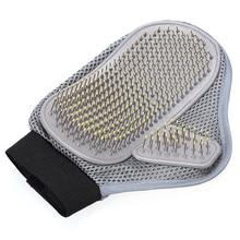 Удобная перчатка для ухода за животными, гребень для кошек собак, штыревая щетка для средних и длинных волос, расслабляющая мышцы, чистящая щетка для ванны 25