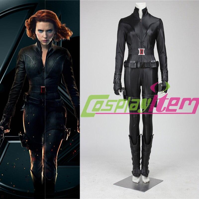 Custom Made Black Widow The Avengers 2 Age Of Ultron Black