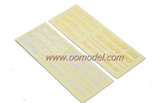 Tarot 250 spare parts TL2653 Hood Laser Stickers  for 250 rc helicopters Free Track Shipping
