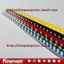 50pcs each lot Appearing Cane Plastic appearing wand made in China for rookie many colors magic prop wholesale