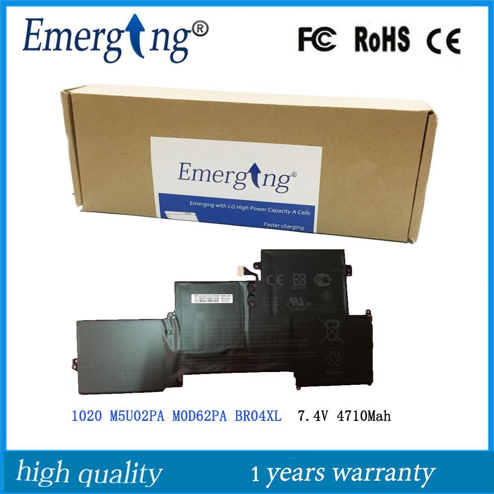 7.4V 34.9WH 4710Mah New Original Laptop Battery BR04XL For HP EliteBook 1020 M5U02PA M0D62PA BR04XL