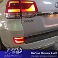 One-Stop Shopping para Toyota land cruiser lc200 fj200 4700 5700 refletor led, conduziu a lâmpada no vidro traseiro para land cruiser lâmpada de freio