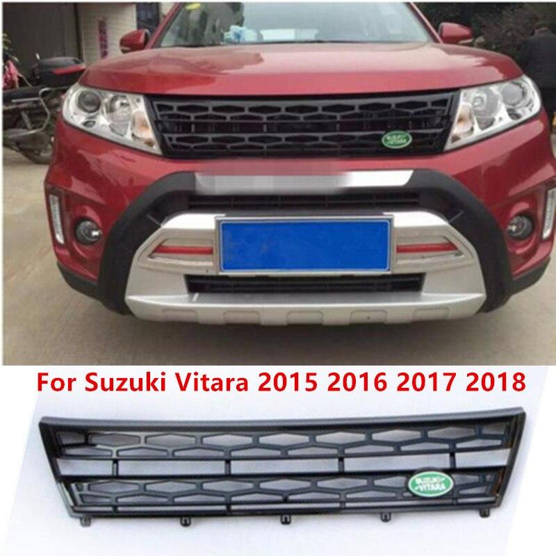 Auto Parts ABS Front Grille Around Trim Racing Grills Trim For Suzuki Vitara 2015 2016 2017
