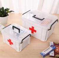 YJPJ1 Free Shipping 3M Family Extra Large Medicine Box Multi Layer Medical Emergency Health Care Box