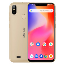 Ulefone S10 Pro Mobile Phone Android 8.1 5.7 inch 19:9 MT6739 Quad Core 2GB RAM 16GB ROM 13MP+5MP Face Unlock 4G Smartphone(China)