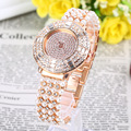 XINJIA Luxury Women Luxury Watch Sparkling Women Quartz Wristwatches Pearl Strap High-end Design Watch relogios feminino KT-13