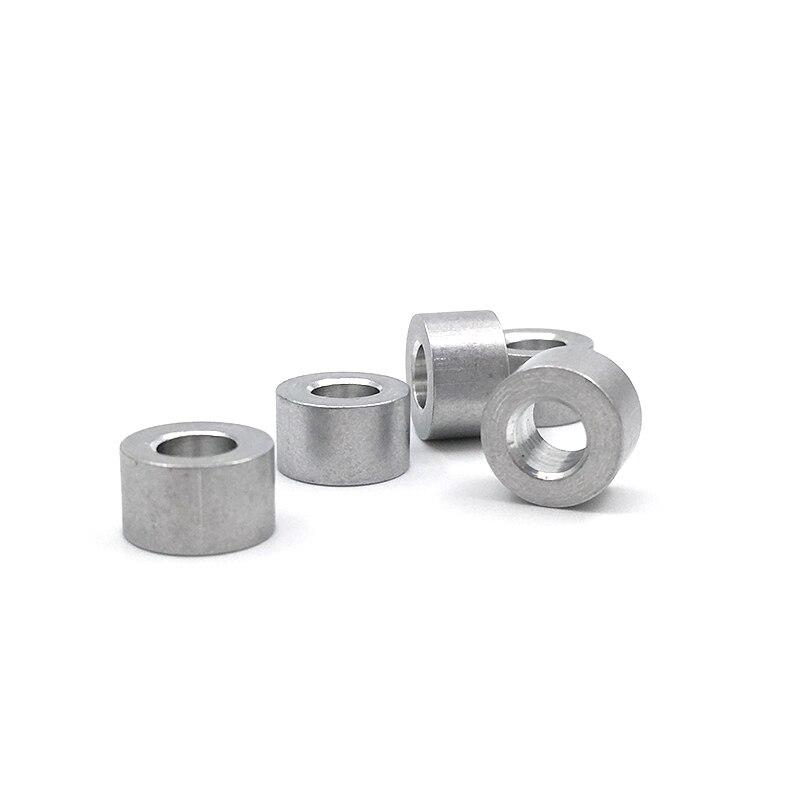 100 Stks/partij 6mm V Slot Aluminium Spacers Voor V Wiel Kits Gratis Verzending Aantrekkelijke Mode