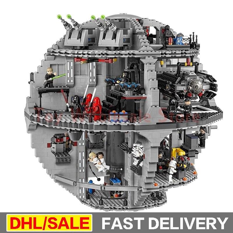 Lepin 05063 4016pcs Genuine Star Wars Force Waken UCS Death Star Educational Building Blocks Bricks lepins Toys Clone 75159