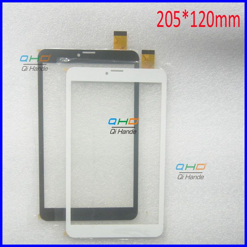 205*120mm Capacitive touch panel Digitizer Sensor Replacement for 8 tablet Roverpad Sky Q8 8Gb 3G Touch Screen replacement lcd digitizer capacitive touch screen for lg vs980 f320 d801 d803 black