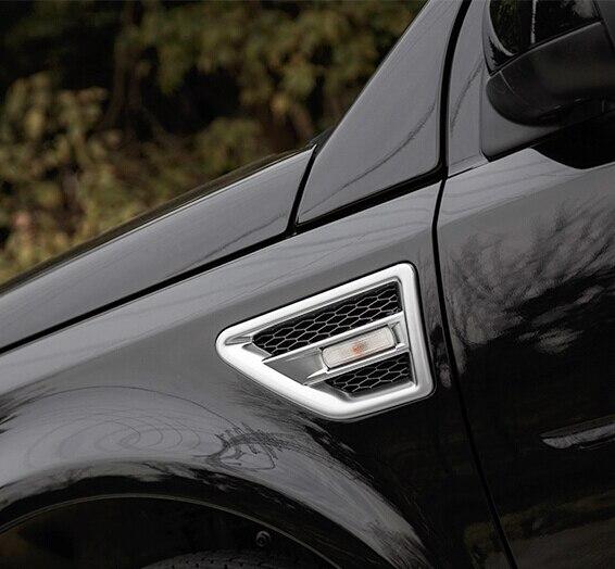 Luhuezu 2011 2015 Side Fender Vents Covers For Land Rover Freelander ...