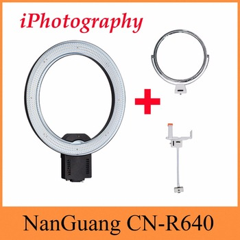 NanGuang CN-R640 CN R640 Photography Video Studio 640 LED Continuous Macro Ring Light 5600K Day Lighting CN-65C PRO UPDATE