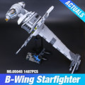 Lepin 05045 New 1487Pcs Genuine Star War Series The B-wing Starfighter Building Blocks Bricks Educational Toys  10227