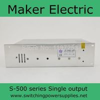 ดีสลับแหล่งจ่ายไฟ48โวลต์10A 500วัตต์S-500-48
