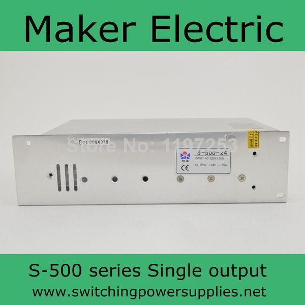 nice switching power supply output   48v 10A 500w S-500-48nice switching power supply output   48v 10A 500w S-500-48