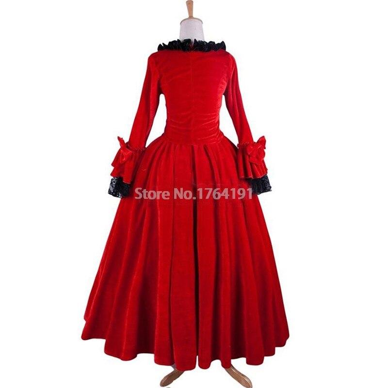 Mesure L'époque De Gothique Reconstitution Sur Vêtements Médiévale Période Renaissance Victorienne Robe Mariage Costume Théâtre ZFRqxgwx4