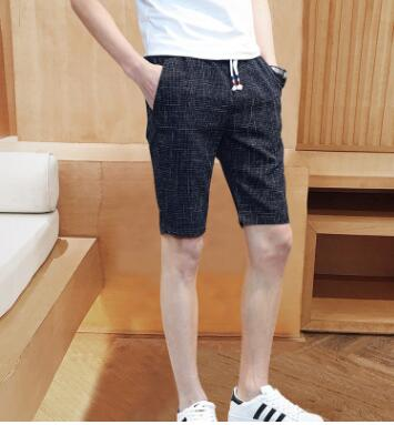 Verano de 2018 nuevos hombres de cinco pantalones cortos slim y transpirable deportes pantalones casuales TZ-27