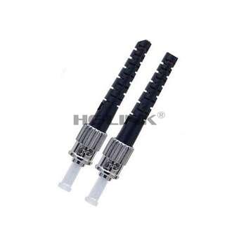 LODFIBER 70M ST-ST Indoor Armored Singlemode Duplex Fiber Optic Cable Patch Cord 9/125
