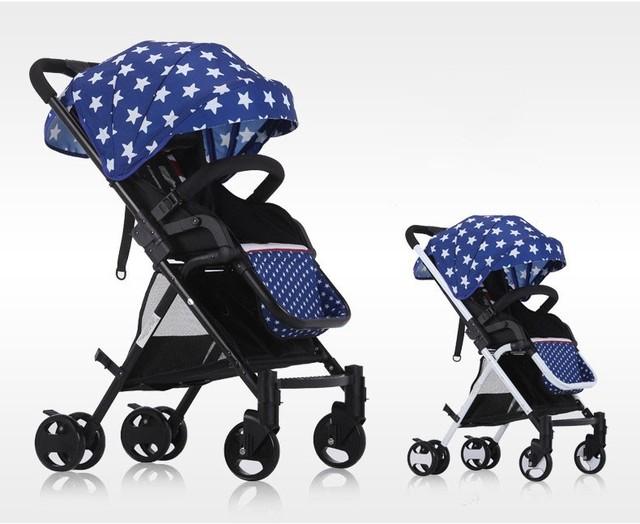 2017 bolsa de Viagem Carrinho de Criança Portátil de Alta Paisagem Empurrar Carrinho Dobrável Crianças Carrinho De Bebê