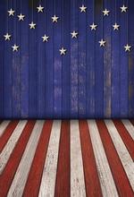Vinyl Photography Background American Independence Day Stars Patriotic Children Fotografia Backgrounds for Photo Studio G-329 patriotic color block stars print shirt