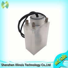free shipping sub tank with sensor for seiko SPT510 print head solvent printer sub tank large format printer sub tank 4 ways