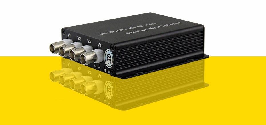 vídeo multiplexer coaxial AHD Segurança Distância De