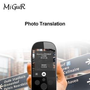 Image 4 - Boeleo K1 Pro traducción fotográfica AI voz inteligente 77 idiomas en tiempo Real WIFI cara a cara 2,4 TFT 12MP Multi función de traductor