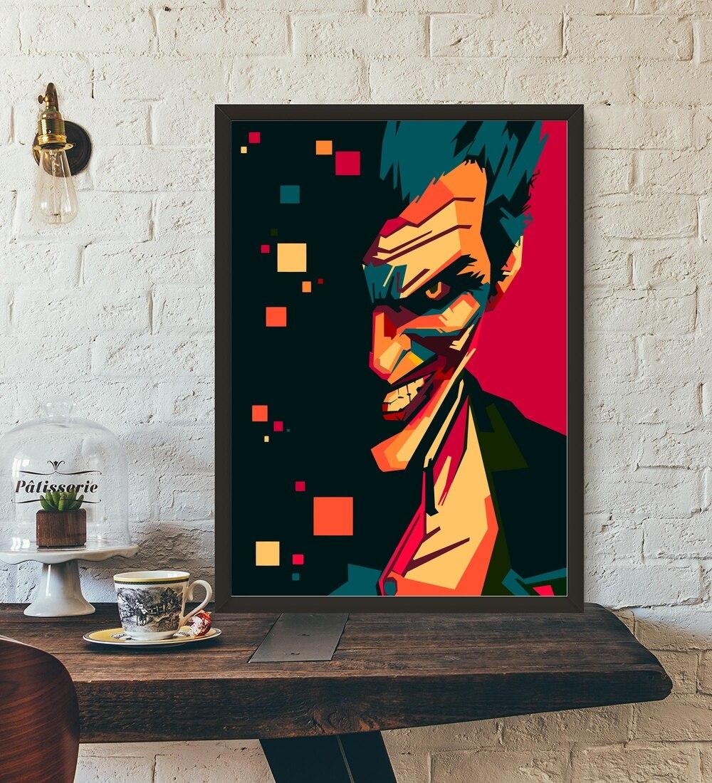 Ongebruikt Kopen Goedkoop Joker Pop Art DIY Schilderen Nummers Kit Verf Op YX-57