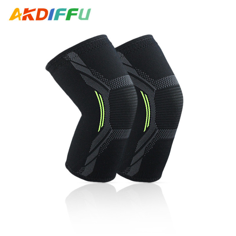 Men And Women General Thin Model Of Sports Knee All Spring Summer Knit Nylon Gear Ball Sports Supplies
