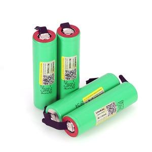 Image 5 - 6PCS/LOT Liitokala New Original 18650 2500mAh battery INR1865025R 3.6V discharge 20A dedicated Power battery + DIY Nickel sheet