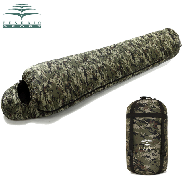 Eusebio Outdoor Sleeping Bag Spring And Autumn Winter Increase Thickening Camouflage