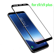 3D Curved Edge Tempered Glass Screen Protector For S amsung S9/S9 PLUS