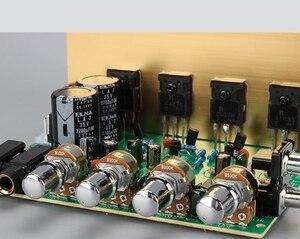 Image 4 - 100W + 100W 2.0 Audio bordo Dellamplificatore di Potenza HIFI stereo di amplificazione digitale riverbero microfono amplificatore Bordo Tono