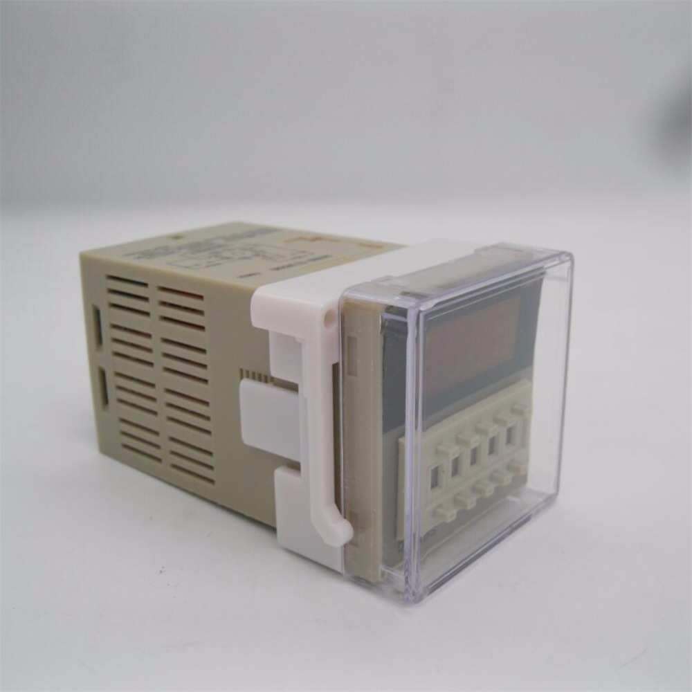 Dh48s 2z 001s 99h99m Programmable Time Timer Relay Switch On Delay Spdt 2 Groups Contacts 8 Pins 220vac 12vdc Ac 24vdc In Relays From Home Improvement