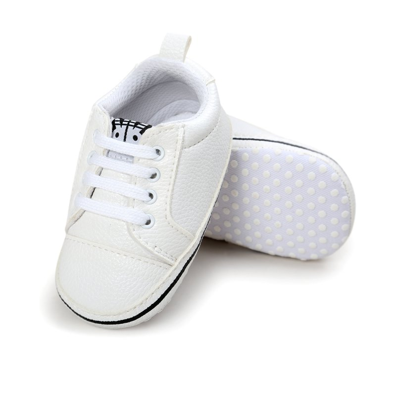 Baby Shoes Solid Causal Baby Boys Girls Sneakers Soft Bottom PU Shoes For Baby Boy Girl