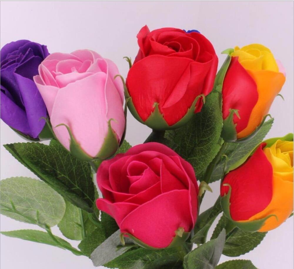 bouquet decorative soap