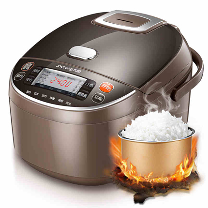 Jy18 rice cooker electric rice machine 4L Cake/Porridge Cooking 3D heating Non Stick ceramics Coating Inner Pot 12 menus booting