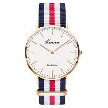 Дропшиппинг дешевые мужские часы женские модные простые ремешок Nato нейлон кварцевые женские часы лучший бренд наручные часы унисекс Relojes Горячая