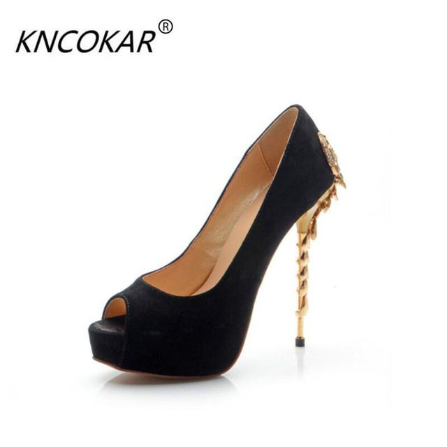0454f5432b1a Женская обувь пикантные босоножки на шпильке из натуральной кожи с открытым  носком качественные вечерние модельные туфли