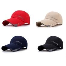 Новая модная Спортивная Кепка мужская шляпа рыболовная Кепка уличная бейсболка солнцезащитная Кепка