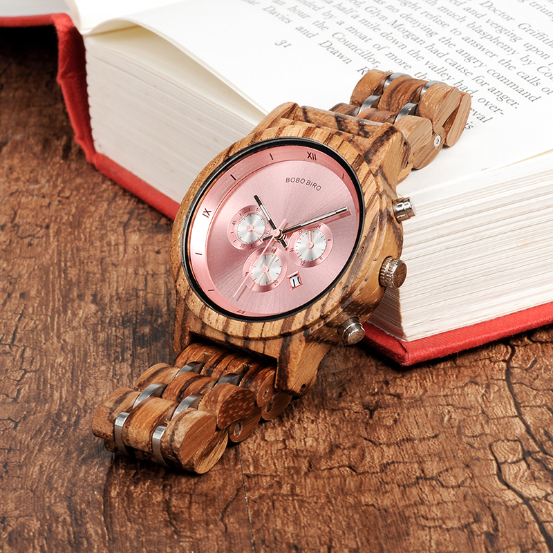 women bobo bird watches wood watches fashion (5)