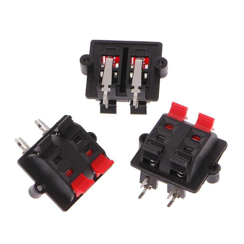 ZXYAN Conector de Cable de Bloque de terminales de cer/ámica de Doble Fila 16 A 2 Posiciones-Blanco 2 Piezas