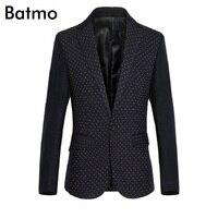 2016 New Arrival Spring Cotton Polyester Men Blazer Printied Casual Blazer For Men Blazer Slim Fit