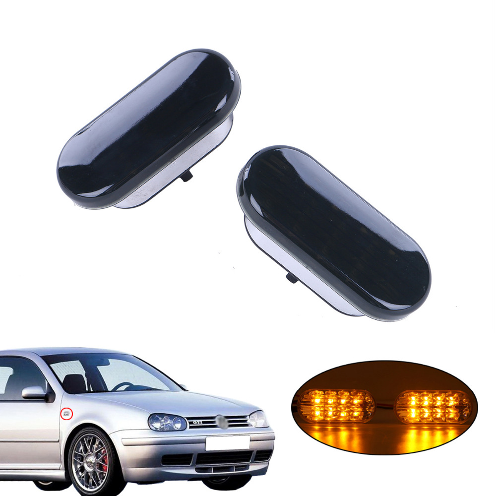 2x Amber Beetle LED Side Marker Light Turn Signal Lamp Smoked Lens For VW Jetta Golf Mk4 Passat B5 B5.5 1999-2004 #976 atamjit singh pal paramjit kaur khinda and amarjit singh gill local drug delivery from concept to clinical applications