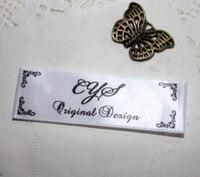 111 Custom clothing Woven Labels 1000 pcs/lot